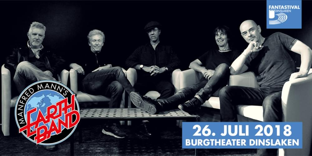 Tickets Manfred Mann's Earth Band,  in Dinslaken