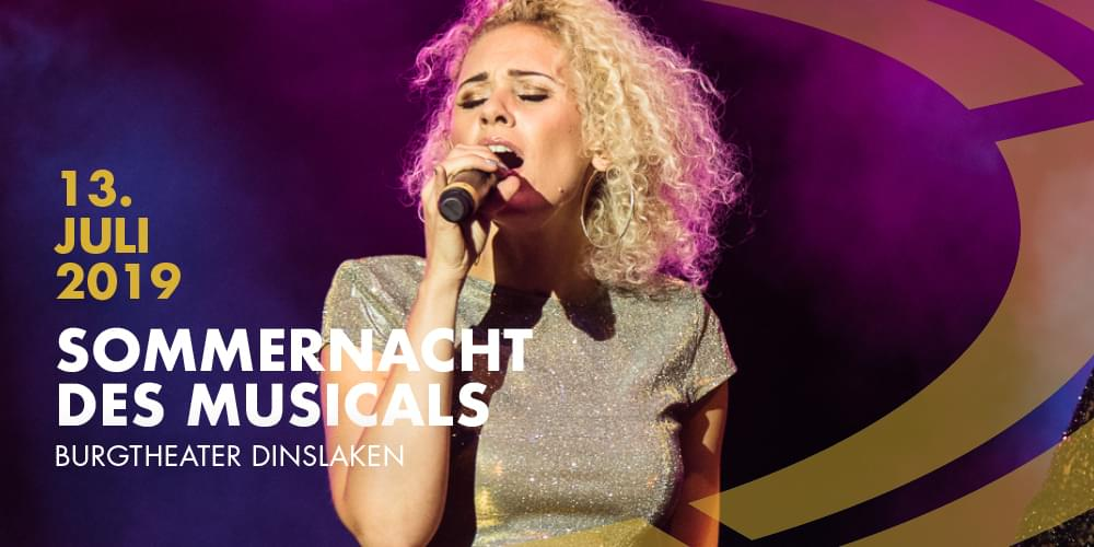 Tickets Sommernacht des Musicals,  in Dinslaken