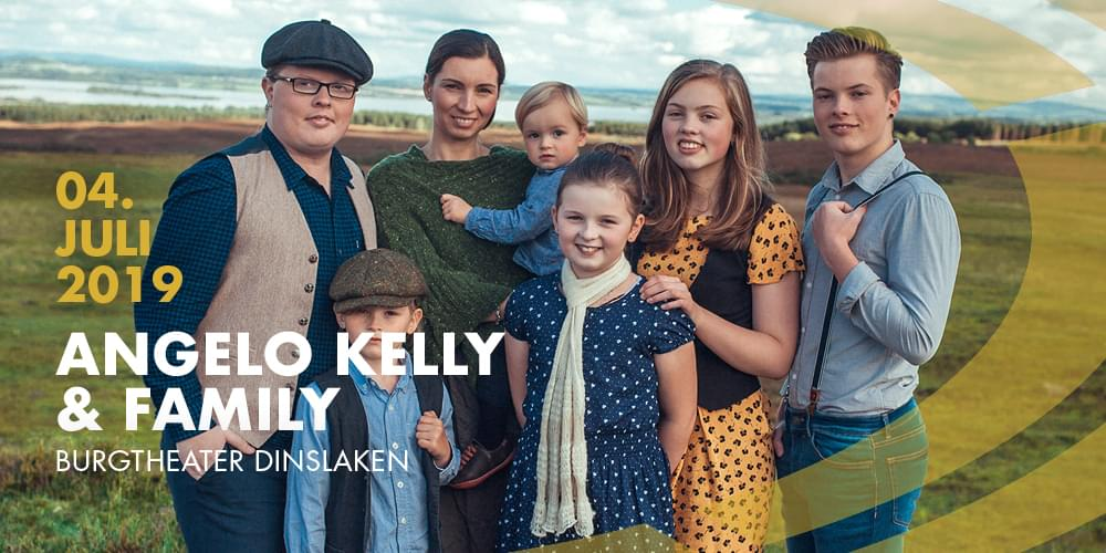 Tickets Angelo Kelly & Family, Irish Summer in Dinslaken