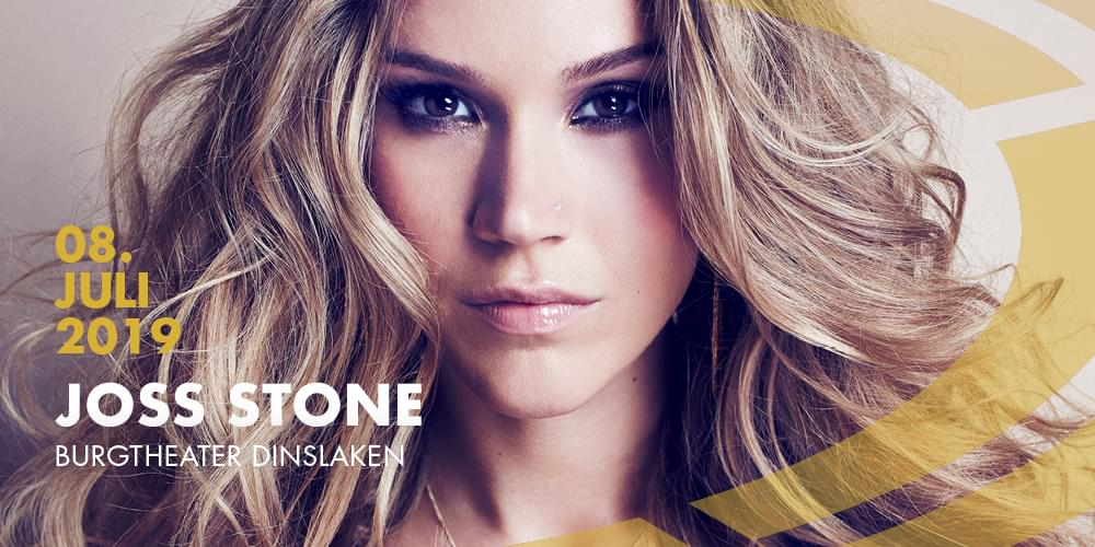 Tickets JOSS STONE, Total World Tour in Dinslaken